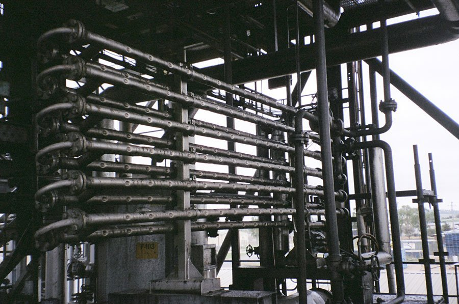 Dimpleflo Energy Recovery Heat Exchanger at a waste oil application.