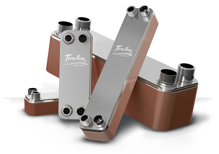 Teralba Accu-Therm Brazed Plate Heat Exchangers _Stacked