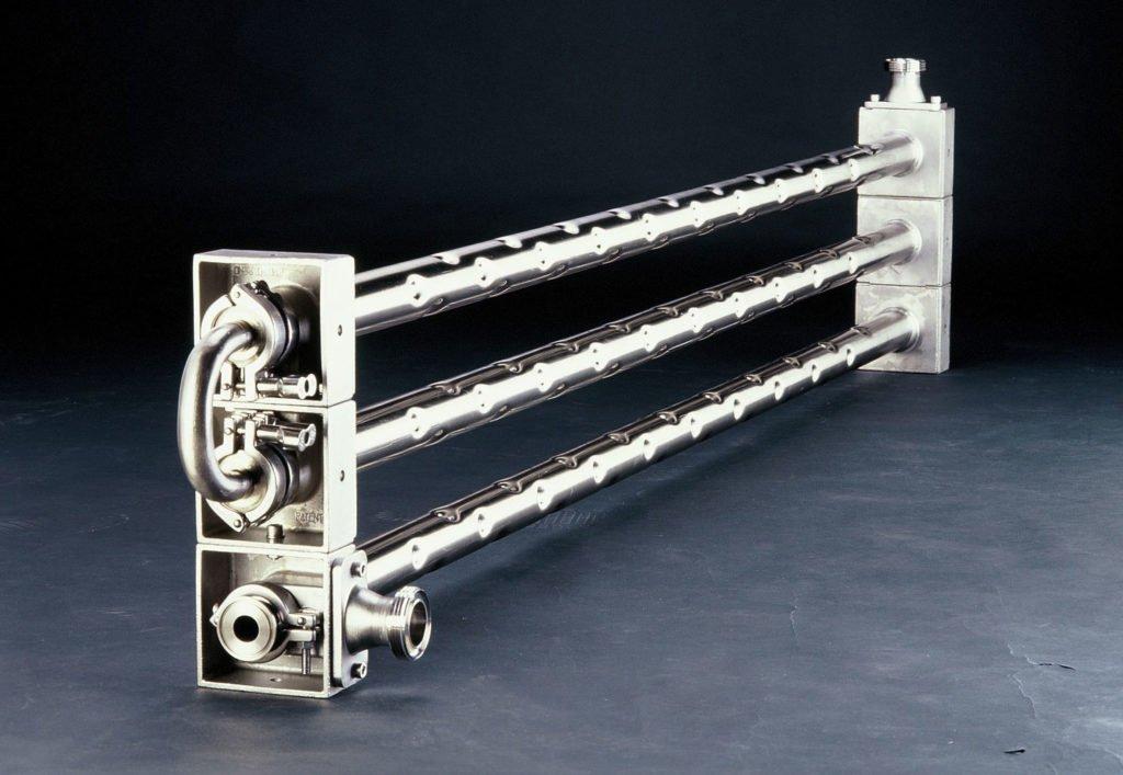 Dimpleflo Modular Heat Exchanger - Titanium Inner Tubes