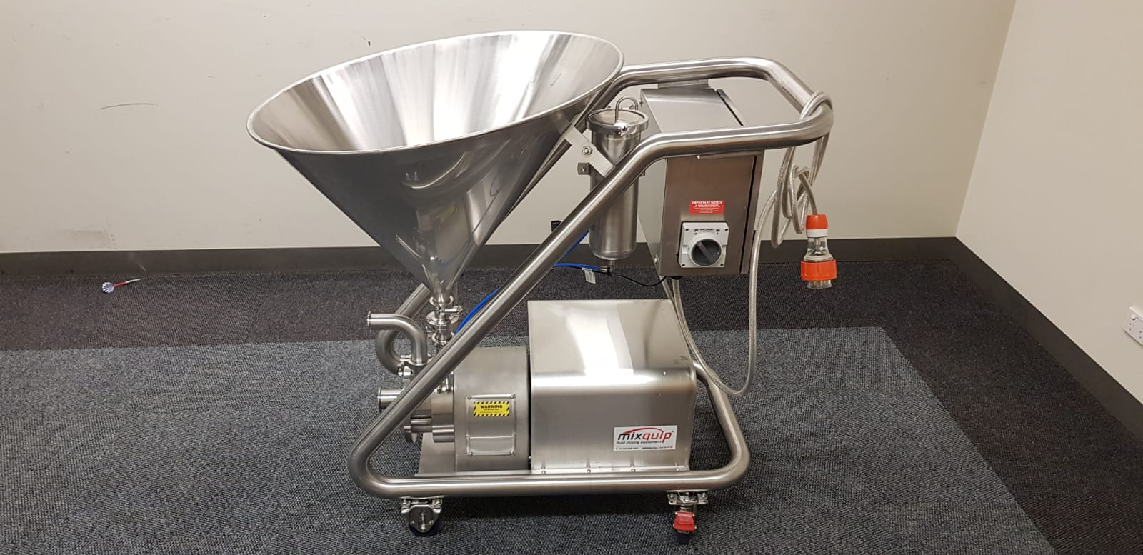 Mixquip Series 620 Powder-into-Liquid Emulsifying Mixer