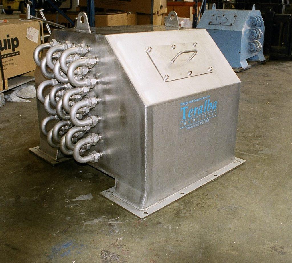 Air to Liquid Heat Exchanger Refurbishment